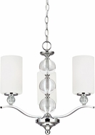 Seagull 3113403EN-05 Englehorn Chrome LED Mini Chandelier Light
