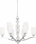 Seagull 3113409EN-05 Englehorn Chrome LED Lighting Chandelier