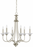 Seagull 31318EN-965 Lemont Contemporary Antique Brushed Nickel LED Lighting Chandelier