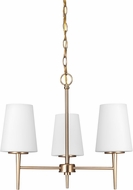 Seagull 3140403EN-848 Driscoll Modern Satin Bronze LED Mini Chandelier Lamp