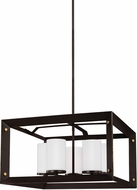 Seagull 3140505EN-71 Chatauqua Contemporary Antique Bronze LED Mini Hanging Chandelier