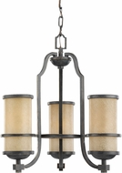 Seagull 31520EN-845 Roslyn Flemish Bronze LED Mini Chandelier Light