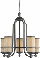 Seagull 31521EN-845 Roslyn Flemish Bronze LED Mini Ceiling Chandelier