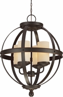 Seagull 3190404EN-715 Sfera Modern Autumn Bronze LED Hanging Light