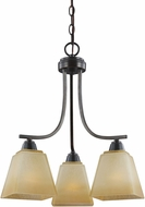 Seagull 3213003EN-845 Parkfield Flemish Bronze LED Mini Chandelier Lamp