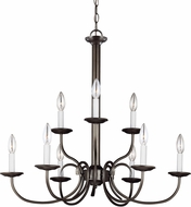 Seagull 32810-782 Holman Heirloom Bronze Hanging Chandelier