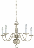 Seagull 3410EN-962 Brushed Nickel LED Mini Chandelier Lamp
