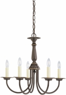 Seagull 3916EN-782 Heirloom Bronze LED Mini Chandelier Lamp