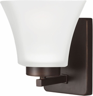 Seagull 4111601EN-710 Bayfield Modern Burnt Sienna LED Wall Sconce Lighting