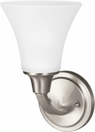 Seagull 4113201EN-962 Metcalf Brushed Nickel LED Wall Mounted Lamp