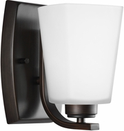 Seagull 4123001EN3-710 Waseca Modern Burnt Sienna LED Wall Sconce Lighting