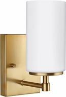 Seagull 4124601EN-848 Alturas Modern Satin Bronze LED Wall Light Sconce