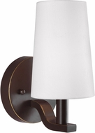 Seagull 4128001-782 Nance Modern Heirloom Bronze LED Wall Lamp