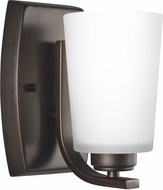 Seagull 4128901EN3-710 Franport Contemporary Burnt Sienna LED Wall Lighting Sconce