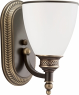 Seagull 41350EN-708 Laurel Leaf Estate Bronze LED Sconce Lighting
