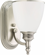 Seagull 41350EN-965 Laurel Leaf Antique Brushed Nickel LED Light Sconce