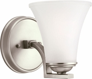 Seagull 41375EN-965 Somerton Antique Brushed Nickel LED Lamp Sconce