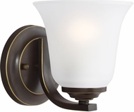 Seagull 4139001-782 Emmons Heirloom Bronze LED Wall Sconce Lighting