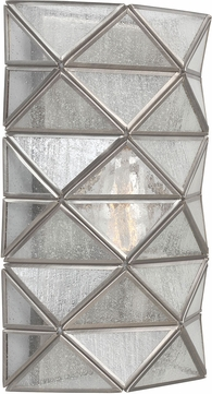 Seagull 4141401BLE-965 Harambee Modern Antique Brushed Nickel Fluorescent Wall Lighting Fixture