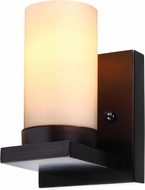 Seagull 41585BLE-710 Ellington Contemporary Burnt Sienna Fluorescent Wall Sconce