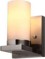 Seagull 41585BLE-962 Ellington Modern Brushed Nickel Fluorescent 2-Light Wall Lamp