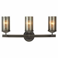 Seagull 4410403BLE-715 Sfera Modern Autumn Bronze Fluorescent 2-Light Bathroom Light
