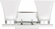 Seagull 4411602EN-05 Bayfield Modern Chrome LED 2-Light Vanity Light
