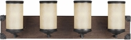 Seagull 4413304-846 Dunning Stardust / Cerused Oak 2-Light Bath Sconce