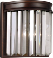 Seagull 4414001EN-710 Carondelet Burnt Sienna LED Bathroom Lighting Sconce