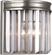 Seagull 4414001EN-965 Carondelet Antique Brushed Nickel LED Bathroom Sconce Lighting
