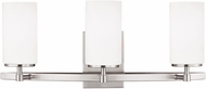 Seagull 4424603BLE-962 Alturas Contemporary Brushed Nickel Fluorescent Bathroom Vanity Lighting