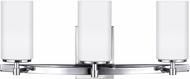 Seagull 4424603EN-05 Alturas Modern Chrome LED 3-Light Bathroom Vanity Lighting