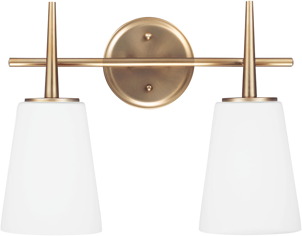 Seagull 4440402EN-848 Driscoll Contemporary Satin Bronze