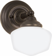 Seagull 44436EN-782 Academy Heirloom Bronze LED Wall Lighting Fixture