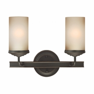 Seagull 4491402BLE-715 Sfera Contemporary Autumn Bronze Fluorescent 4-Light Bathroom Vanity Lighting