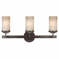 Seagull 4491403BLE-715 Sfera Contemporary Autumn Bronze Fluorescent Bathroom Sconce