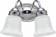 Seagull 4871EN3-05 Brookchester Chrome LED 2-Light Bathroom Vanity Lighting