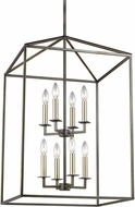 Seagull 5115008-782 Perryton Heirloom Bronze Foyer Lighting Fixture