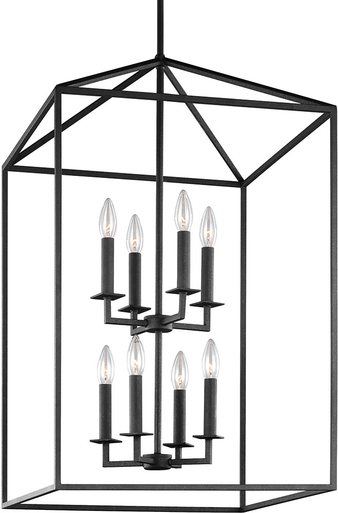 seagull pendant lighting. Seagull 5115008-839 Perryton Blacksmith Foyer Lighting Fixture. Loading Zoom Pendant