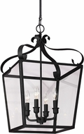 Seagull 5119404EN-839 Lockheart Blacksmith LED Foyer Light Fixture