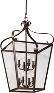 Seagull 5119408EN-782 Lockheart Heirloom Bronze LED Foyer Lighting Fixture
