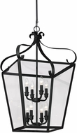 Seagull 5119408EN-839 Lockheart Blacksmith LED Entryway Light Fixture