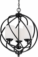 Seagull 5125203EN-839 Goliad Blacksmith LED 18  Foyer Lighting Fixture