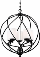 Seagull 5125205EN-839 Goliad Blacksmith LED 25  Entryway Light Fixture