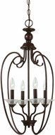 Seagull 51316EN-710 Lemont Modern Burnt Sienna LED Entryway Light Fixture