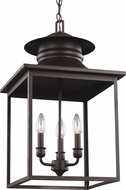 Seagull 5136103EN-782 Huntsville Heirloom Bronze LED Foyer Light Fixture