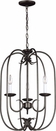 Seagull 51806-782 Holman Heirloom Bronze Foyer Lighting Fixture