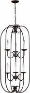 Seagull 51807-782 Holman Heirloom Bronze Foyer Lighting