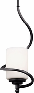 Seagull 6125201EN-839 Goliad Blacksmith LED Mini Pendant Light