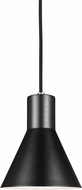 Seagull 6141301EN-962 Towner Modern Brushed Nickel LED Mini Hanging Pendant Light